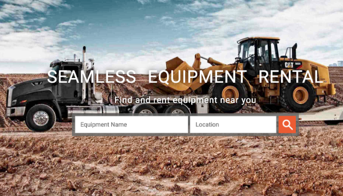 Rent construction Equipment Fast